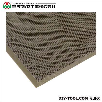 ミヅシマ工業 エントラップマット スタンダードアンバック グレー 900mm×1800mm 403-3480