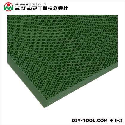 ミヅシマ工業 エントラップマットスタンダードアンバック グリーン 900mm×1800mm 403-3500