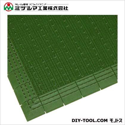 ミヅシマ工業 ニューエルバーマット グリーン 900mm×1500mm 402-1310