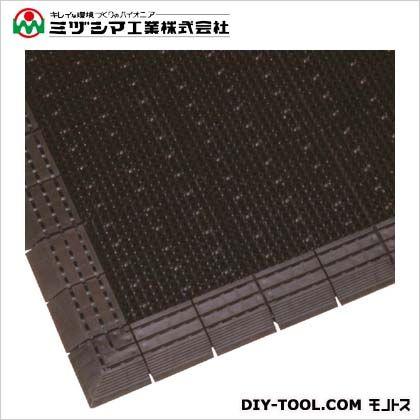 ミヅシマ工業 ニューエルバーマット ブラウン 900mm×1500mm 402-1340