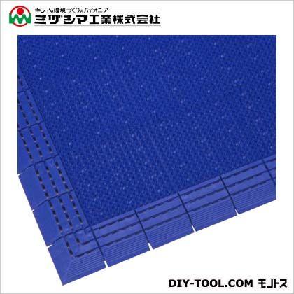 ミヅシマ工業 ニューエルバーマット ブルー 900mm×1800mm 402-1350