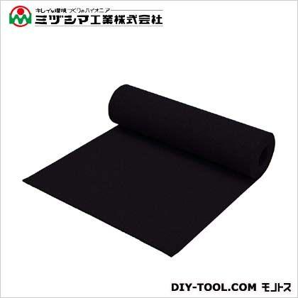 ミヅシマ工業 クッションマット ブラック 1m×5m×7mm 407-0100