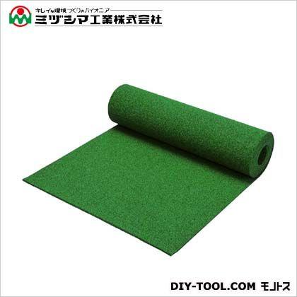 ミヅシマ工業 クッションマット グリーン 1m×5m×10mm 407-0220