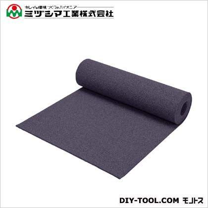 ミヅシマ工業 クッションマット グレー 1m×5m×10mm 407-0230