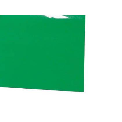 ミヅシマ工業 ビニール長マット 平板 ライトグリーン 910mm×20M×1.5mm 411-0352