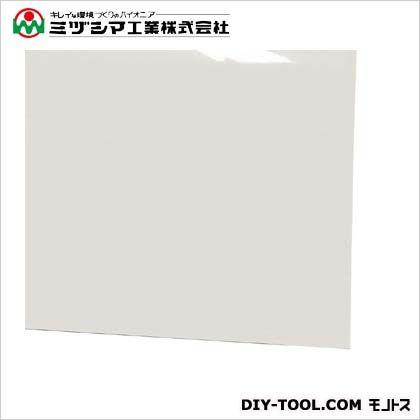 ミヅシマ工業 ビニール長マット 平板 ホワイト 910mm×20M×1.5mm 411-0366