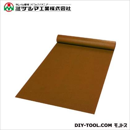 ミヅシマ工業 ダイヤマット ブラウン 1M×10M×3.5mm 411-0140
