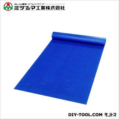 ミヅシマ工業 ダイヤマット ライトブルー 1M×10M×3.5mm 411-0150