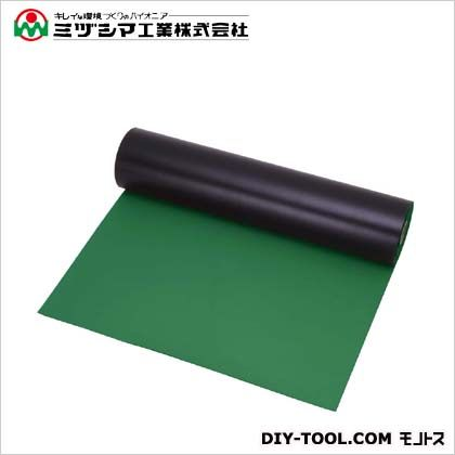 ミヅシマ工業 セルダムマット グリーン 1M×20M×5mm 411-0010