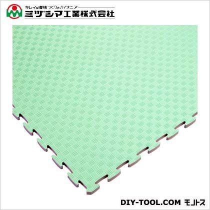 ミヅシマ工業 ジョイントタタミ グリーン 900mm×900mm×18mm 414-0050
