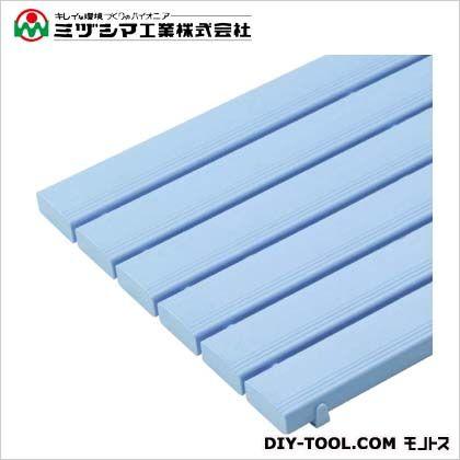 ミヅシマ工業 ストレートスノコ115D ブルー 600mm×1156mm×49mm 430-0540