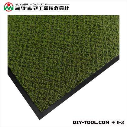 ミヅシマ工業 エクシータフマット(ナイロンマット)#18 グリーン 900mm×1500mm 412-2101