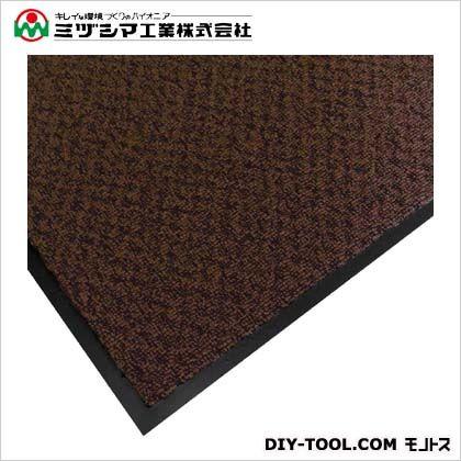 ミヅシマ工業 エクシータフマット(ナイロンマット)#18 ブラウン 900mm×1500mm 412-2103