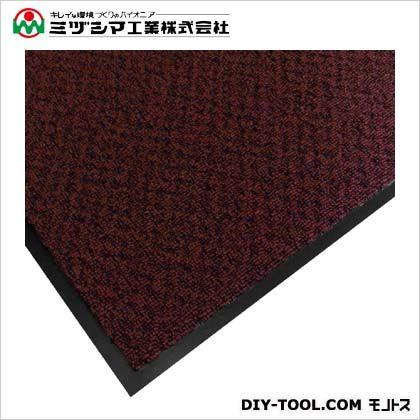 ミヅシマ工業 エクシータフマット(ナイロンマット)#18 レッド 900mm×1500mm 412-2104