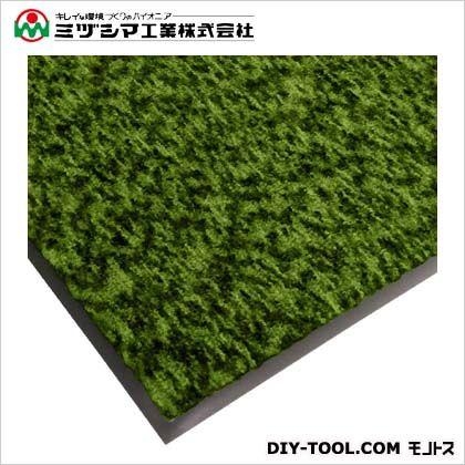 ミヅシマ工業 ハイロンマット(ナイロンマット)#12 NCグリーン 900mm×1200mm 412-0611