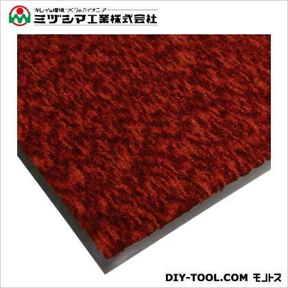 ミヅシマ工業 ハイロンマット(ナイロンマット)#12 NCレッド 900mm×1200mm 412-0631