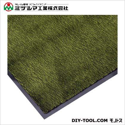 ミヅシマ工業 エンペラーマット(ナイロンマット)#18 グリーン 900mm×1800mm 412-0050