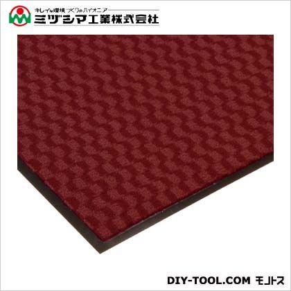 ミヅシマ工業 エンハンスマット3000 レッド 900mm×1200mm 413-1000