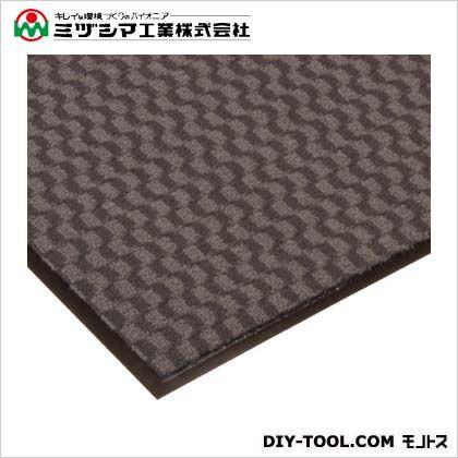 ミヅシマ工業 エンハンスマット3000 グレー 1200mm×18M 413-1370