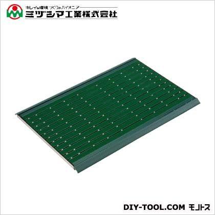 ミヅシマ工業 フミ・フミマット(衛生マット) グリーン 625mm×915mm 490-0110