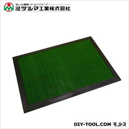 ミヅシマ工業 フミ・フミマットゴムフレーム(衛生マット) 705mm×1005mm 490-0100