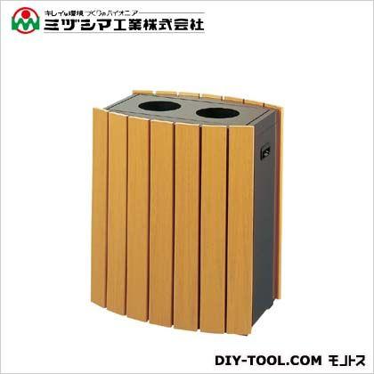 ミヅシマ工業 クリンボックスRW-CB-40B 木目調 間口513mm×奥行380mm×高さ620mm 364-0020