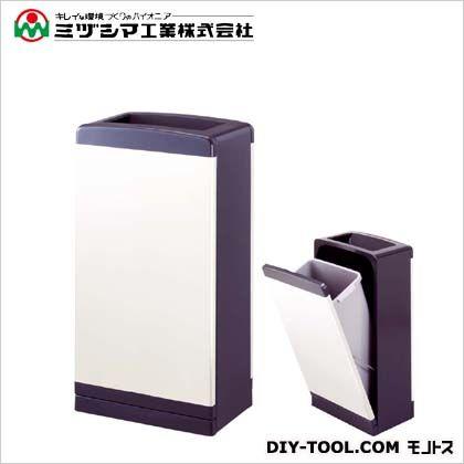 ミヅシマ工業 クリンボックスDI グレー 間口350mm×奥行220mm×高さ650mm 200-0100