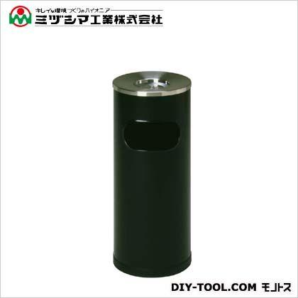 ミヅシマ工業 クリンスモーキングSS101 ブラック(メラミン焼付塗装) 直径265mm×高さ600mm 221-0030