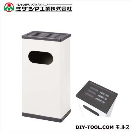 ミヅシマ工業 クリンスモーキングMS101 アイボリー(メラミン焼付塗装) 間口320mm×奥行220mm×高さ595mm 221-0010