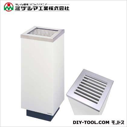 ミヅシマ工業 クリンスモーキングS30 アイボリー(メラミン焼付塗装) 間口300mm×奥行き300mm×高さ710mm 220-0030