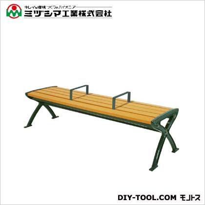ミヅシマ工業 セパレートベンチSB1-LC 背無 間口1825mm×奥行455mm×高さ520mm 244-0071