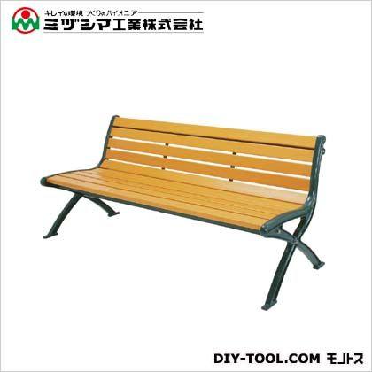 ミヅシマ工業 リサイクルベンチRB1-LW 背付 間口1825mm×奥行620mm×高さ780mm 244-0040