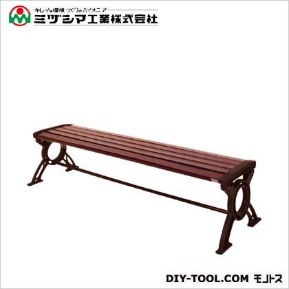 ミヅシマ工業 リサイクルベンチRB6-LC 背無 間口1825mm×奥行535mm×高さ425mm 244-0600