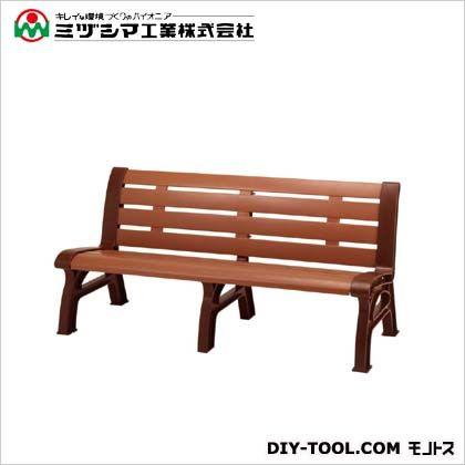 ミヅシマ工業 エコベンチ 間口1600mm×奥行610mm×高さ745mm 241-0380