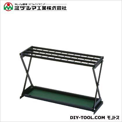 ミヅシマ工業 レインX#33 ブラック(メラミン焼付塗装) 間口610mm×奥行260mm×高さ510mm 230-0020