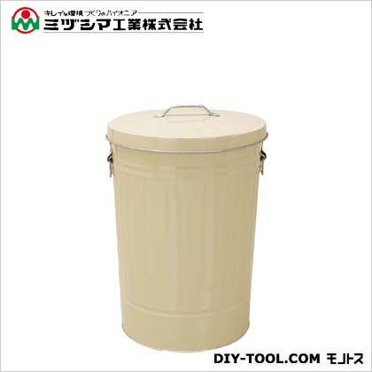ミヅシマ工業 ダストBOX 42 アイボリー 直径355mm×高さ510mm 3670420