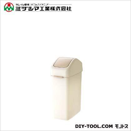 ミヅシマ工業 ダストボックス 15スイング アイボリー 間口200mm×奥行346mm×高さ472mm (201-1120) 12個