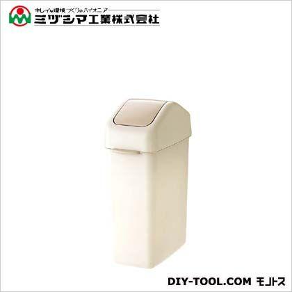 ミヅシマ工業 ダストボックス 25スイング アイボリー 間口220mm×奥行391mm×高さ565mm (201-1140) 8個