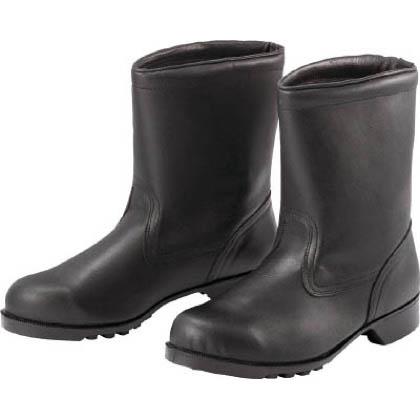 ミドリ安全 ゴム底安全靴 半長靴 V2400 23.5cm V240023.5