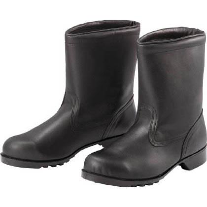 ミドリ安全 ゴム底安全靴 半長靴 V2400 24.0cm V240024.0