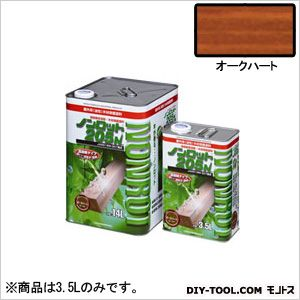 三井化学産資 ノンロット205N Sカラー 屋外用 オークハート 3.5L (SG-OHT) 木部専用 塗料 木部 木材