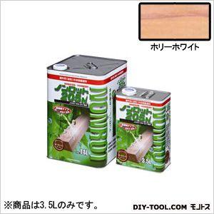 三井化学産資 ノンロット205N Sカラー 屋外用 ホリーホワイト 3.5L (SG-HWH) 木部専用 塗料 木部 木材