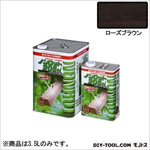 三井化学産資 ノンロット205N Sカラー 屋外用 ローズブラウン 3.5L (SG-RSB) 木部専用 塗料 木部 木材