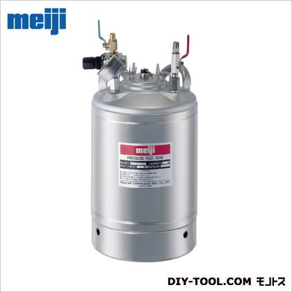 ※法人専用品※明治機械製作所 液圧送タンク 概略寸法(外径×高さ):228X499mm P-10SC