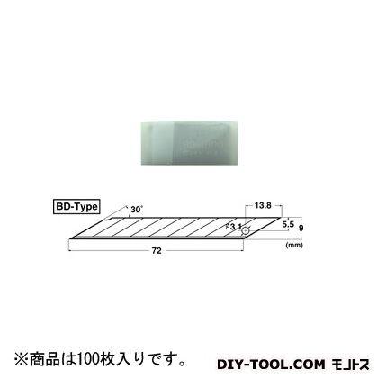 NT 商業 BD 刀片刀刀片 100 / pkg (BD-2000)