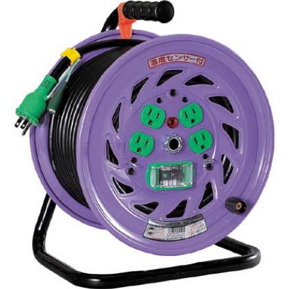 日動工業 電工ドラム 標準型100Vドラム アース漏電しゃ断器付 30m (×1台)  NFEB34