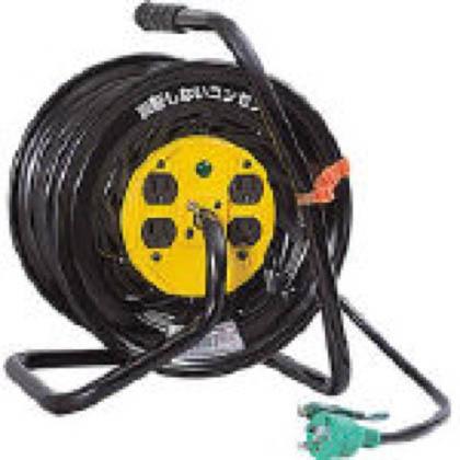 日動工業 電工ドラム マジックリール 100V アース付 30m (×1台)  ZE34
