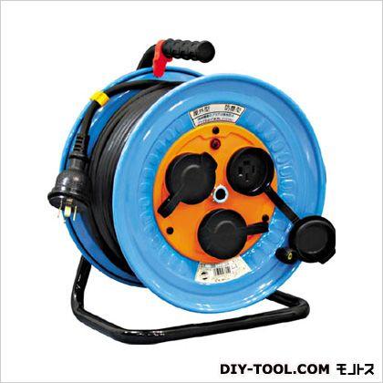 日動工業 電工ドラム 防雨防塵型三相200V 3.5sq電線アース付 30m (×1台)  DNWE330F20A