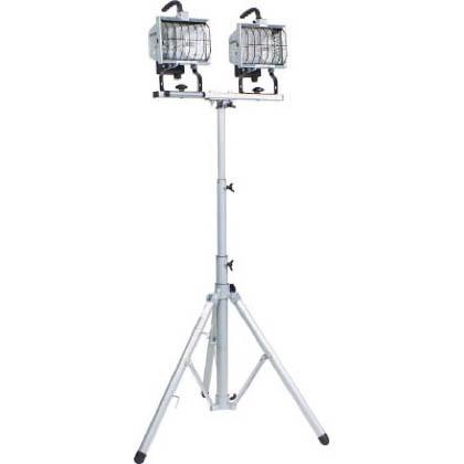 日動 ハロゲン投光器ハロスター500100V500Wハロゲン二灯三脚式  HS-500LW