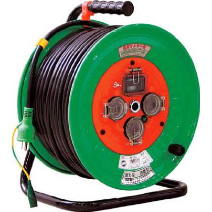 日動工業 日動 防雨型漏電遮断器付電工ドラム NWEB53 1台  NWEB53 1 台